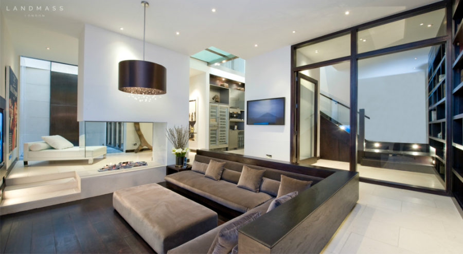 ... Airy basement by Landmass London & Cool Basement Ideas to Inspire Your Next Design Project
