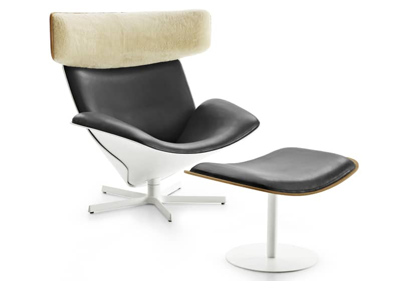 Almora lounge chair by Doshi Levien