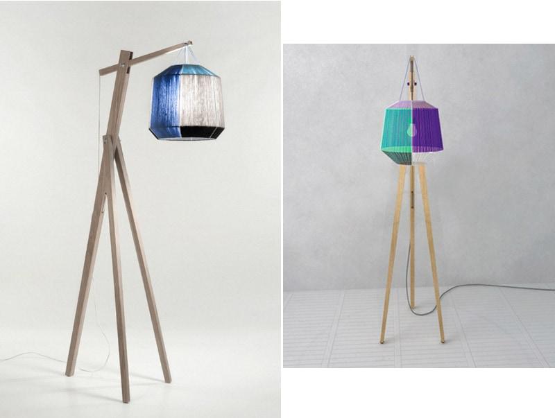 Ana Kras tripod floor lamp