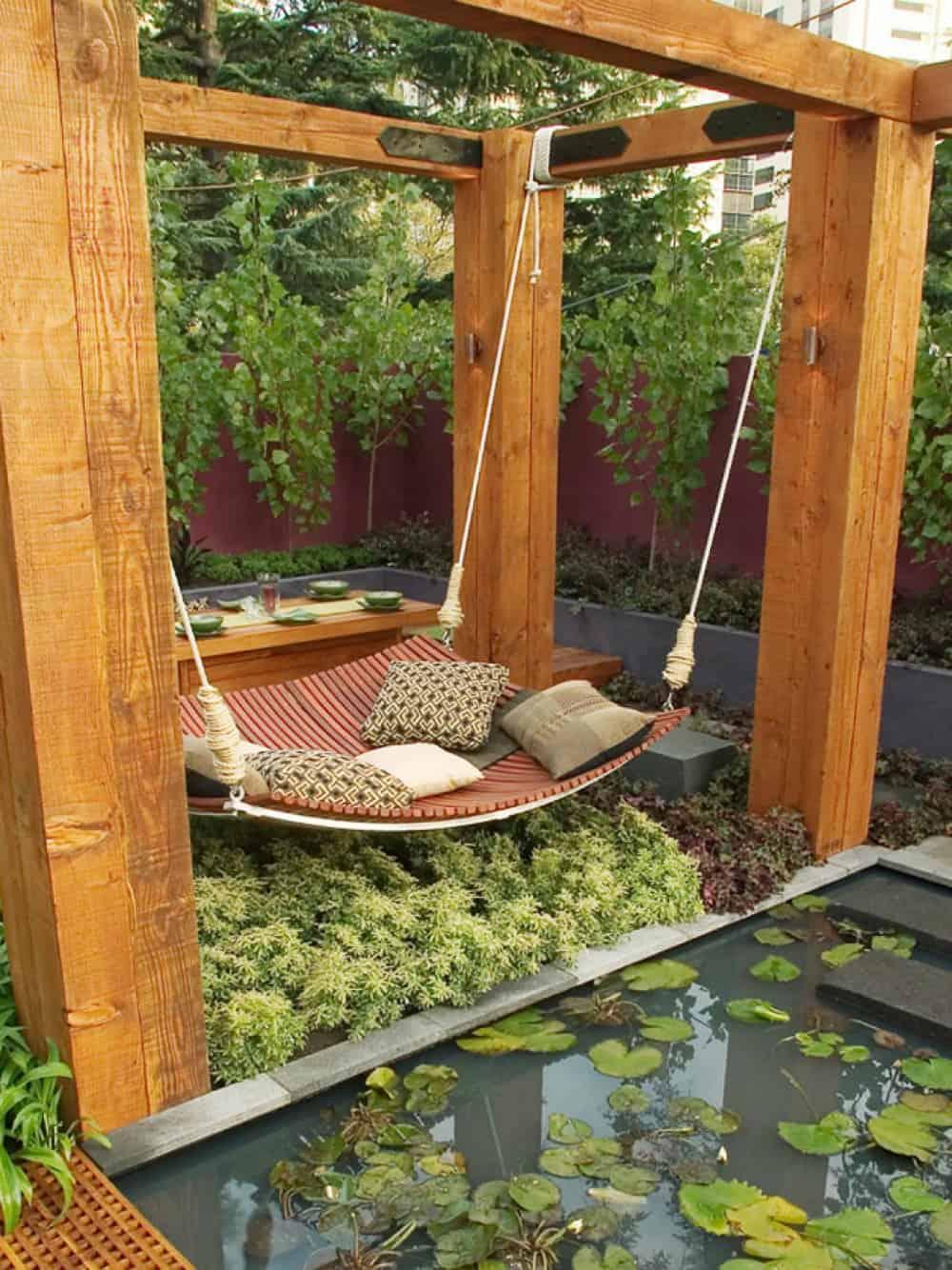 Asset Soup backyard swing