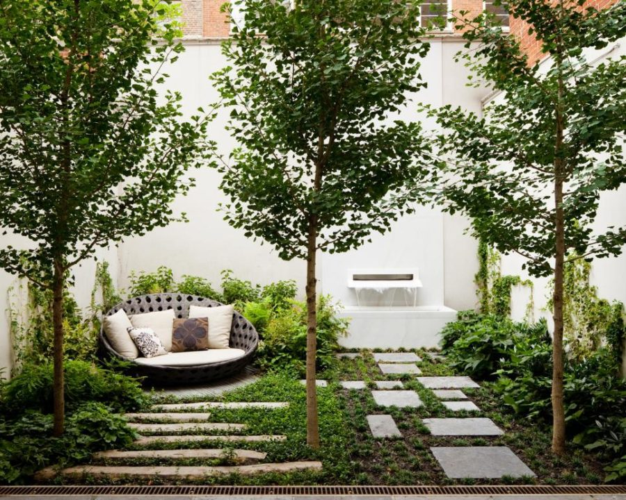 Backyard by Nelson Byrd Woltz Landscape Architects