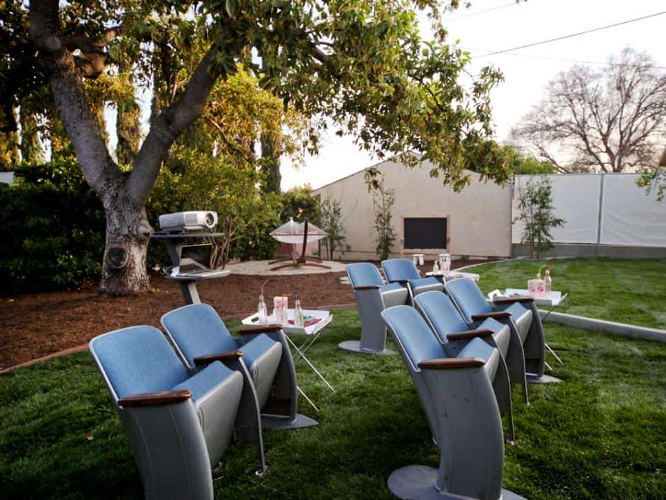 Backyard theatre