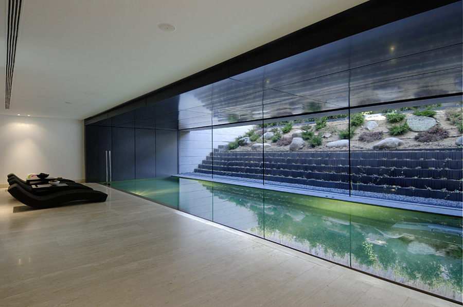 basement pool glass.  Basement Basement Pool Throughout Glass R