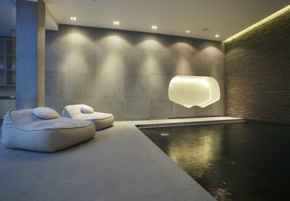 Basement spa by Design by Guncast