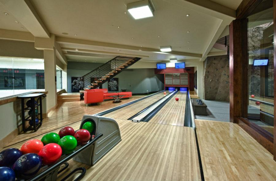 Bowling basement by Sorento Design