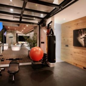 Boxing Training in your gym 285x285 Bright Basement Remodelling Ideas