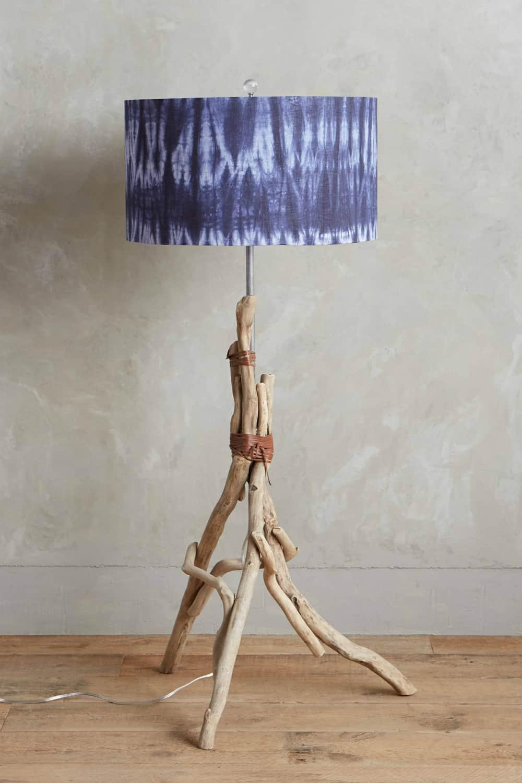 Branched Tripod Floor Lamp Ensemble