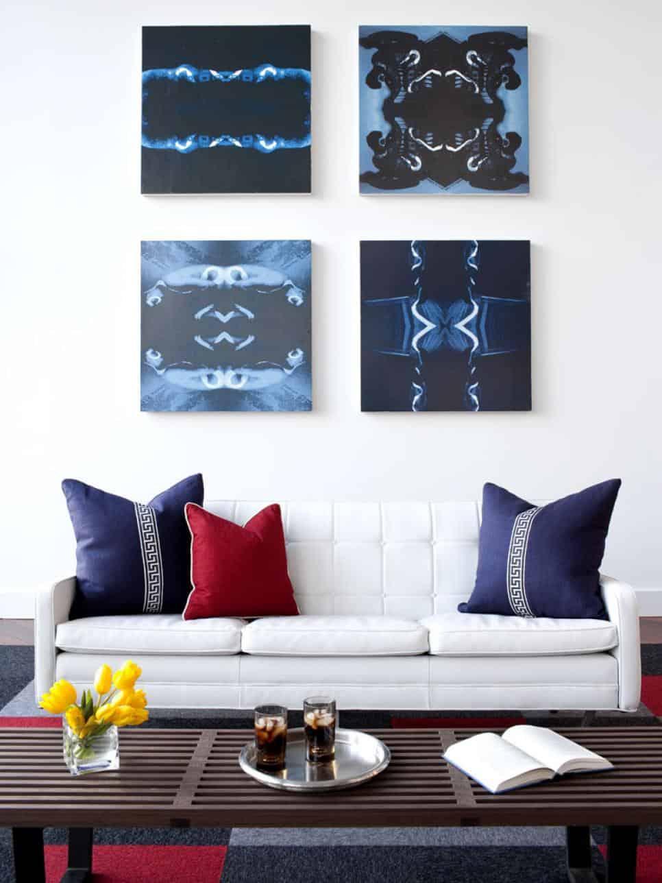 Brian Patrick Flynn Atlanta living room