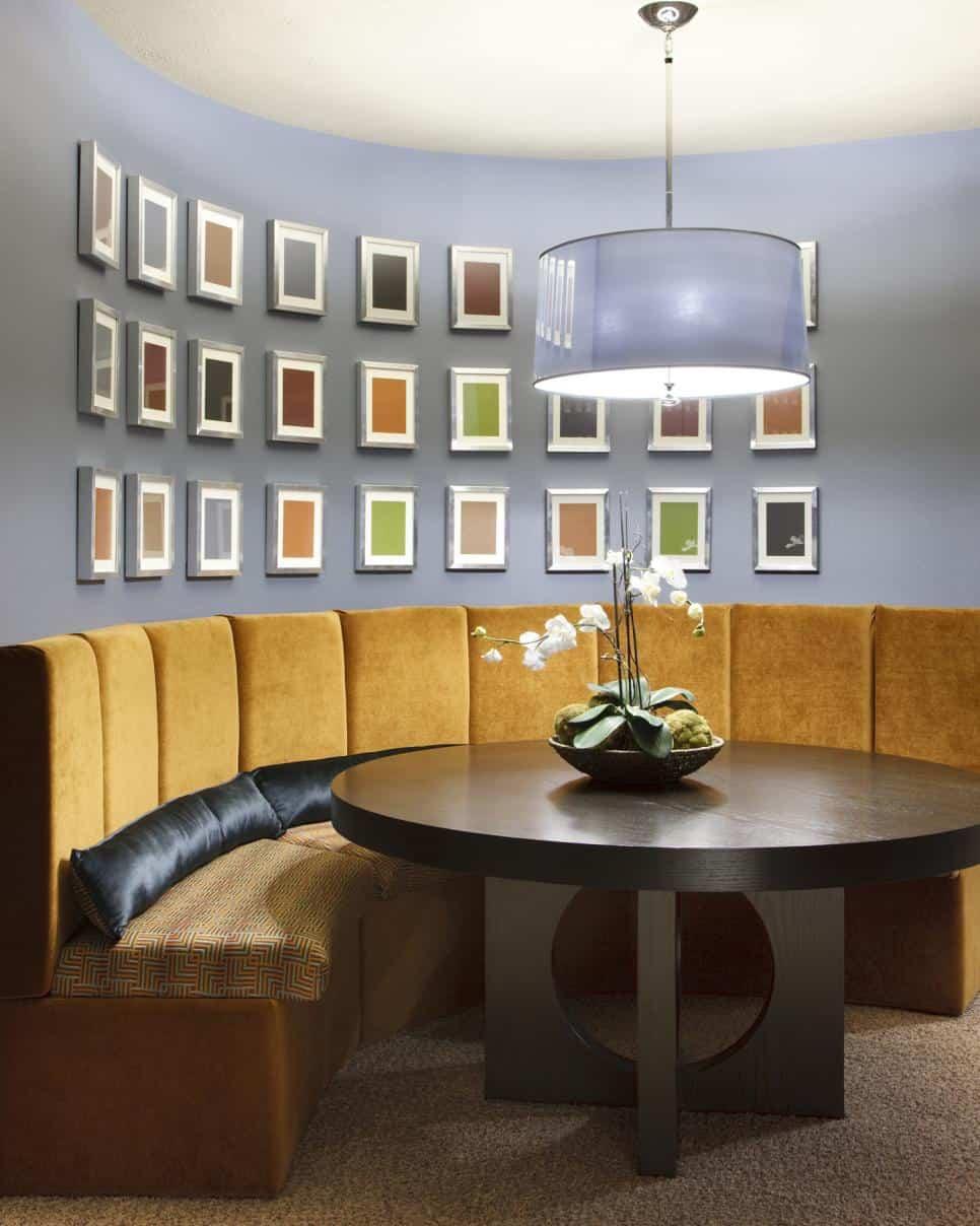 Basement dining area Molly Kann-Carey
