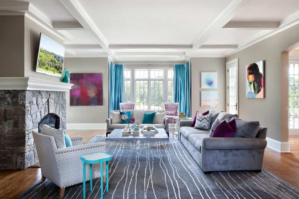 Claire Paquin living room design
