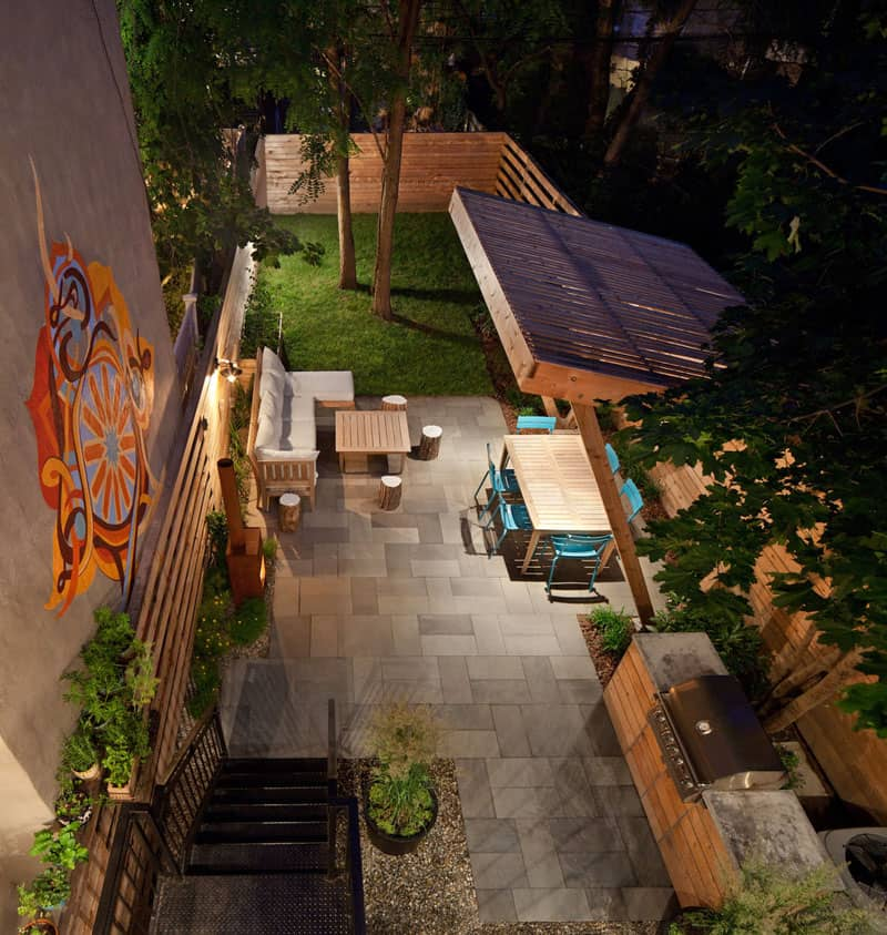 View in gallery Cool backyard by New Eco Landscape Design & Build - Brilliant Backyard Ideas, Big And Small
