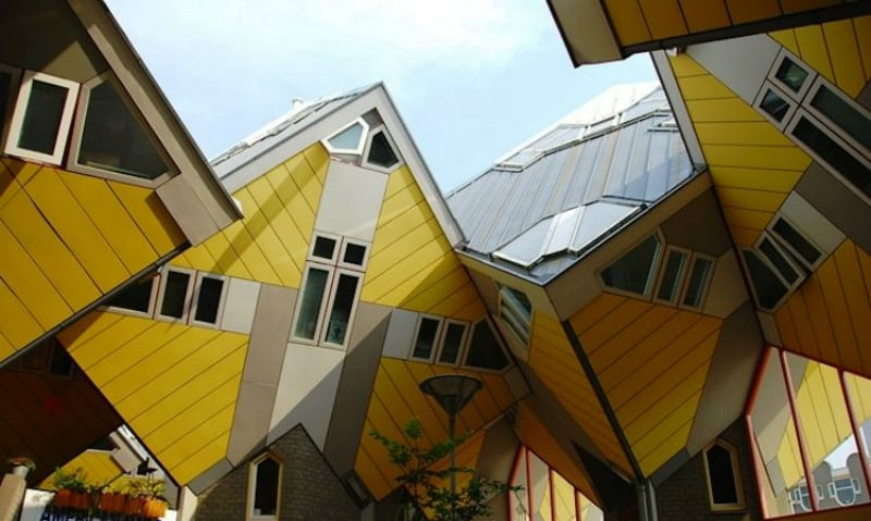 Cubic Houses in Rotterdam Netherlands