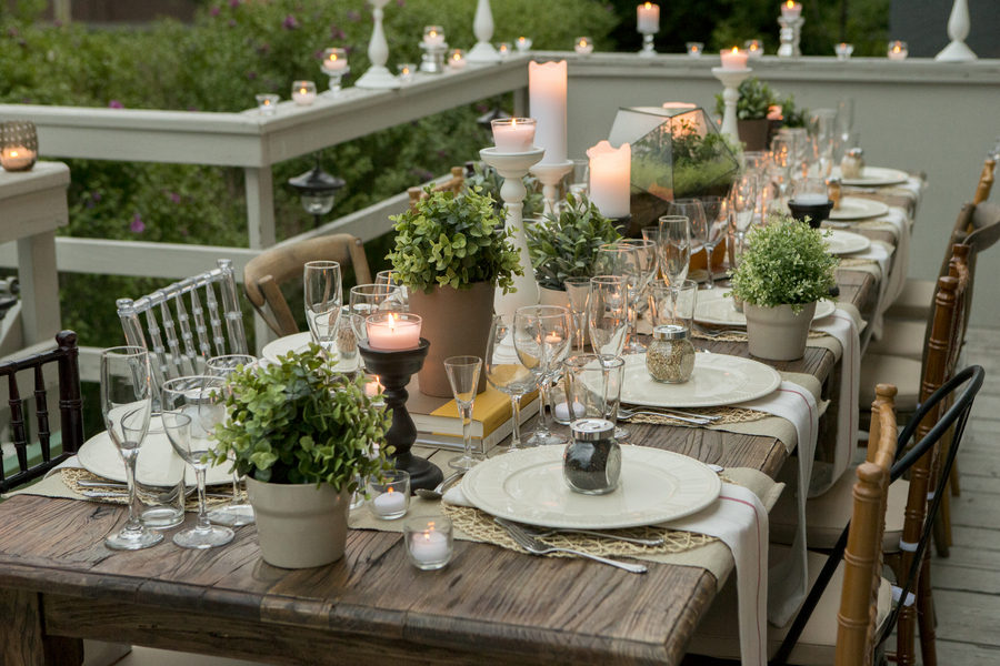 View In Gallery Dinner Party Table Setting 900x600 Table Setting Ideas For  Any Occasion Part 11