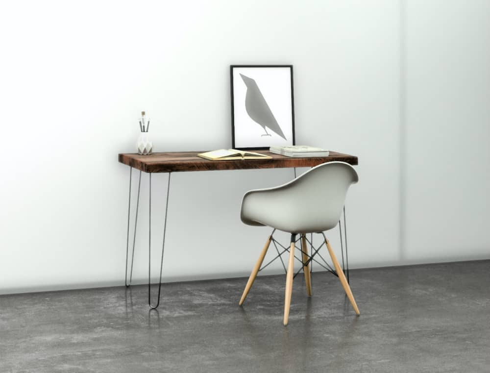 Distressed Wood Desk or Table
