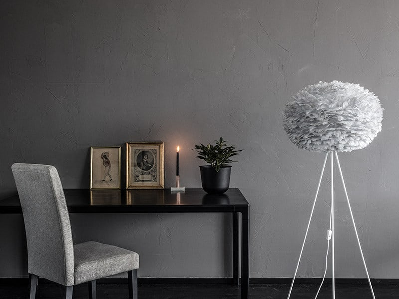EOS Large Light tripod floor lamp in Grey
