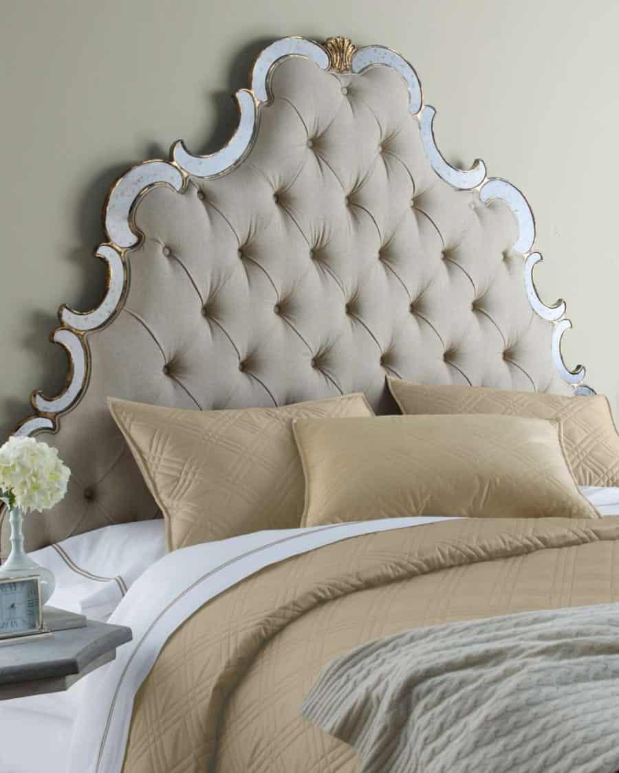 Elegant Queen size bed