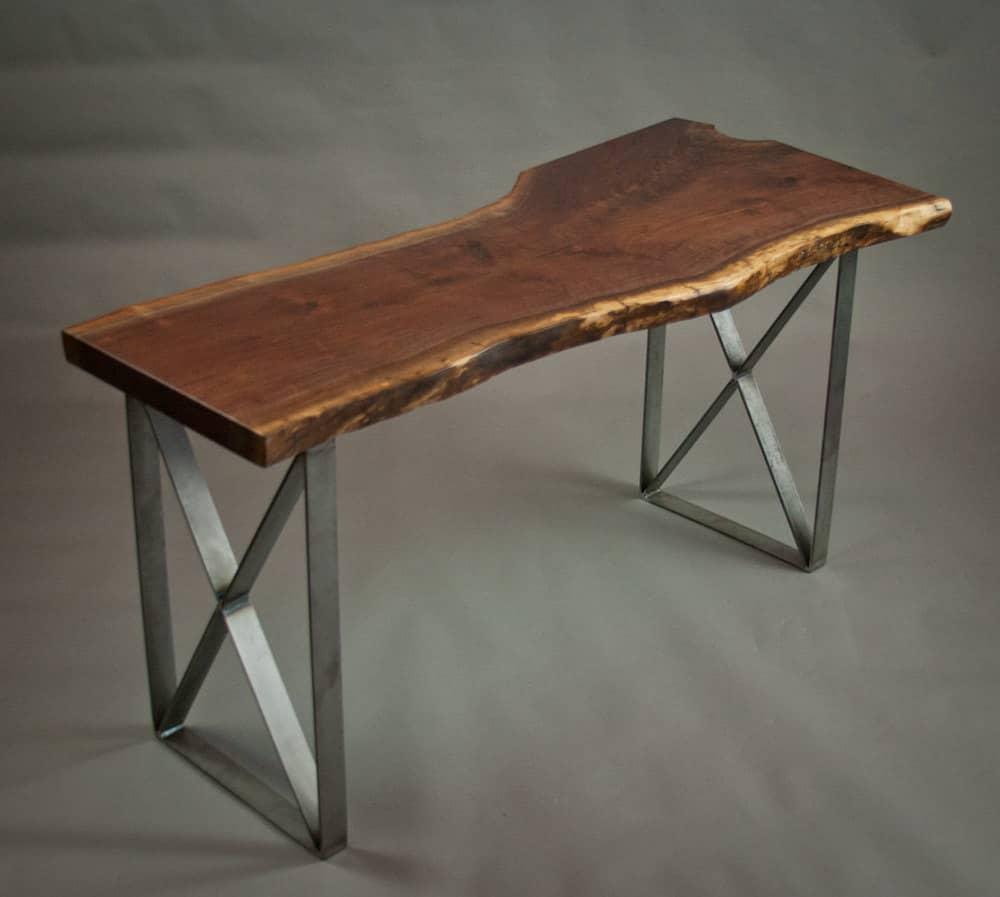 Epis & Wood Live Edge Walnut Desk