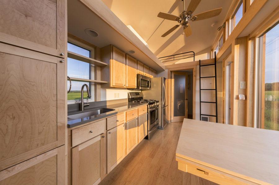 Escape Traveller kitchen