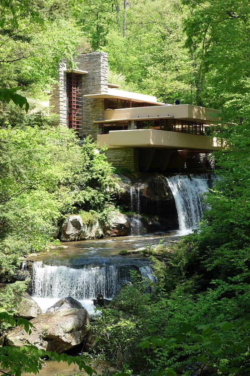 Fallingwater Residence in Mill Run, Pennsylvania
