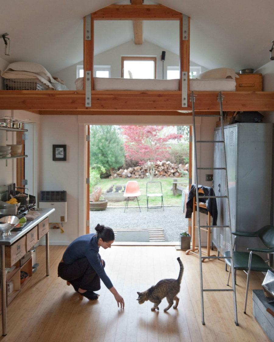 Garage house interior