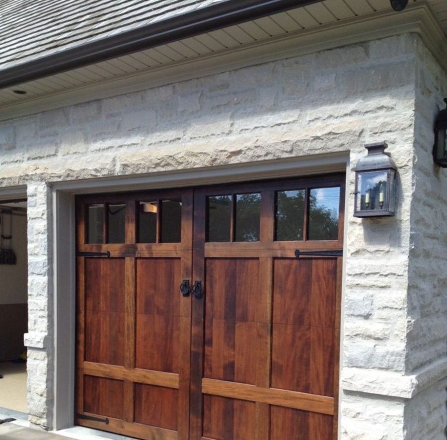 Garage sliding barn doors