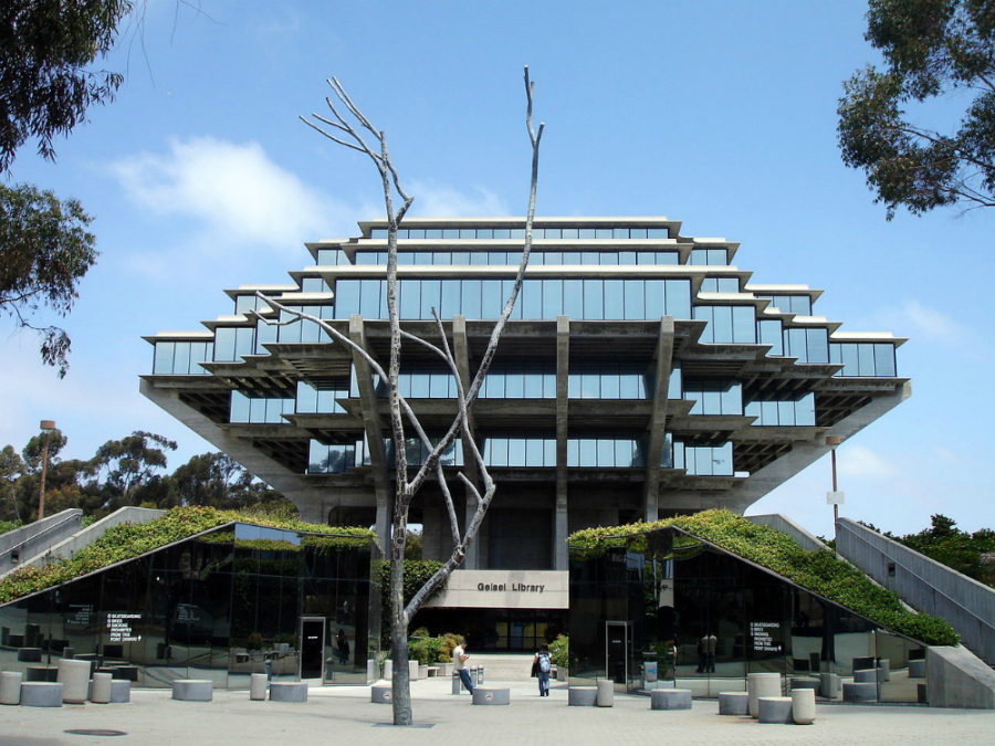 Geisel Library in La Jolla, California