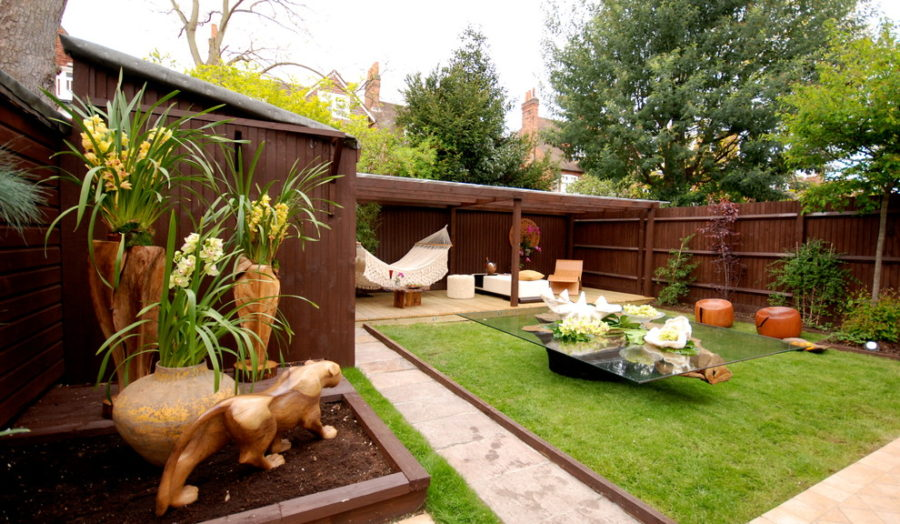 Brilliant backyard ideas big and small Modern backyards