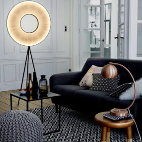 25 Absolutely Not Boring Tripod Floor Lamp Designs