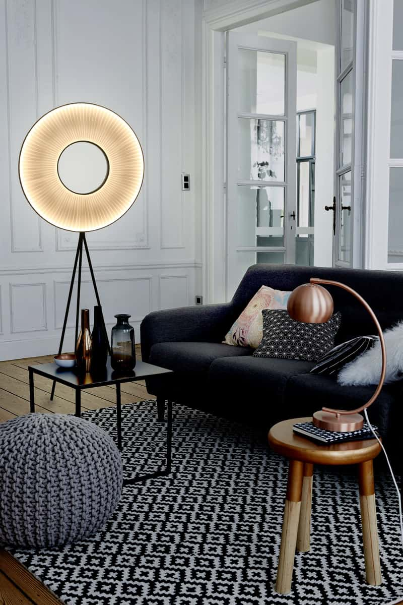 Iris Tripod Floor Lamp by Fabrice Berrux