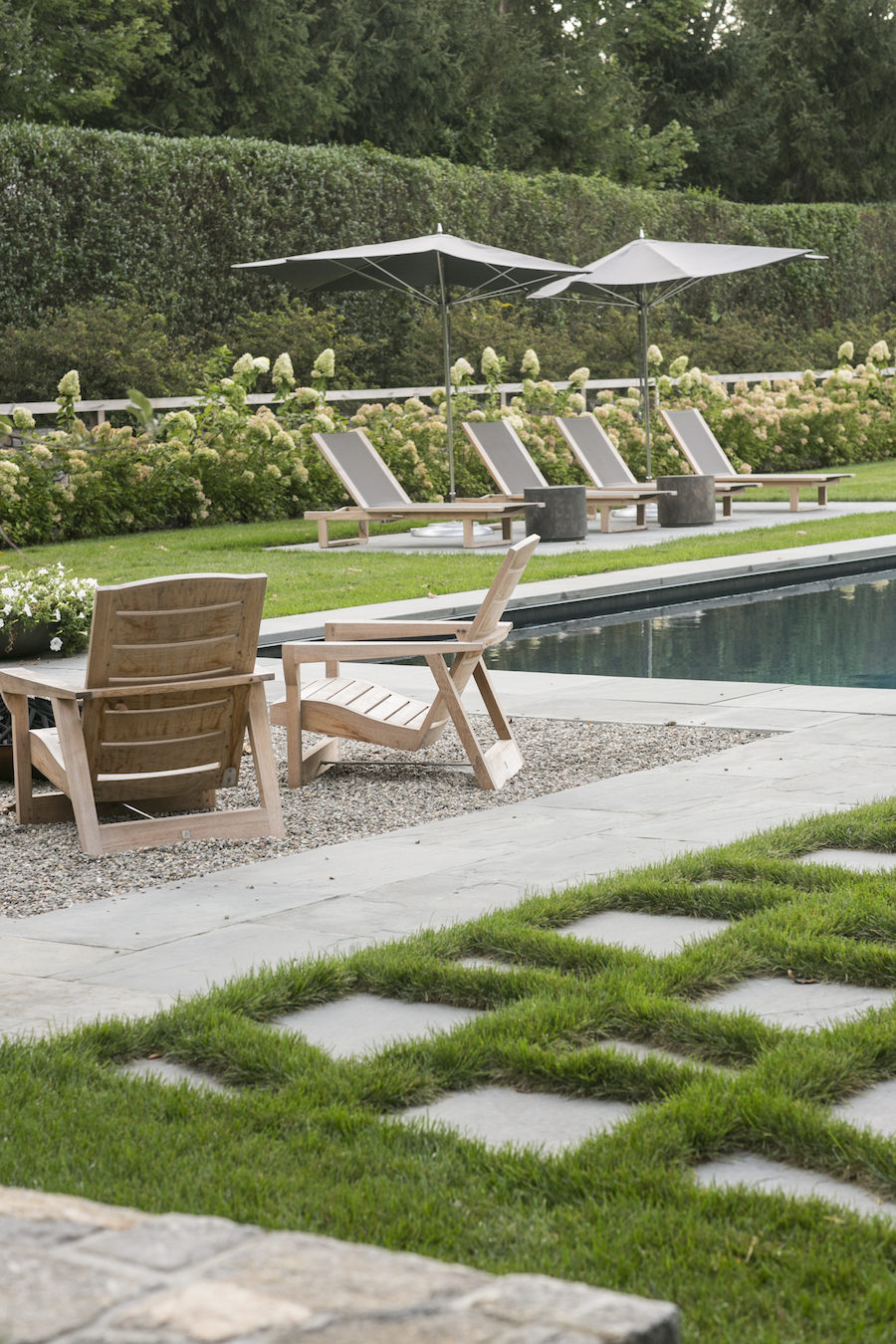 Janice Parker pool landscape