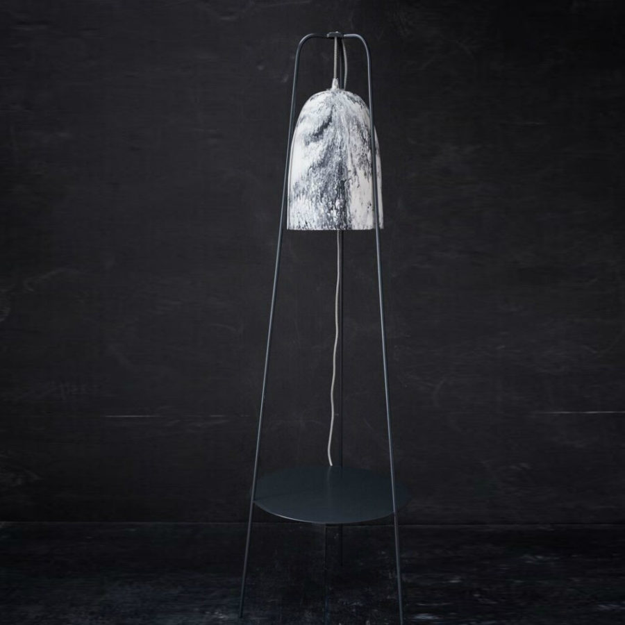 Keep Resin Large Lamp in marble by Honey Jackson