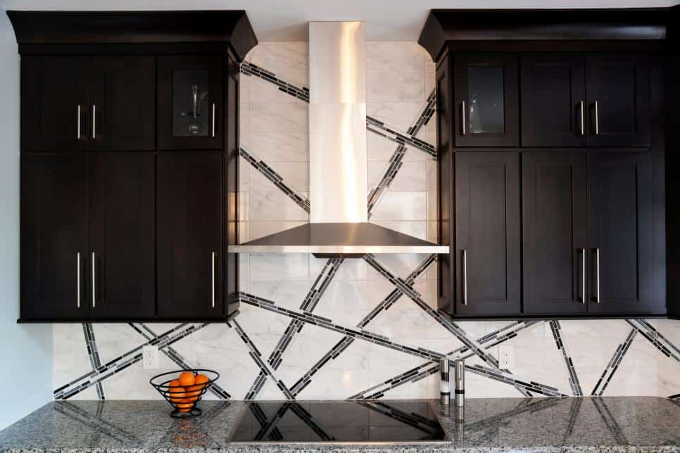 Kitchen backsplash design by DiFabion Remodeling