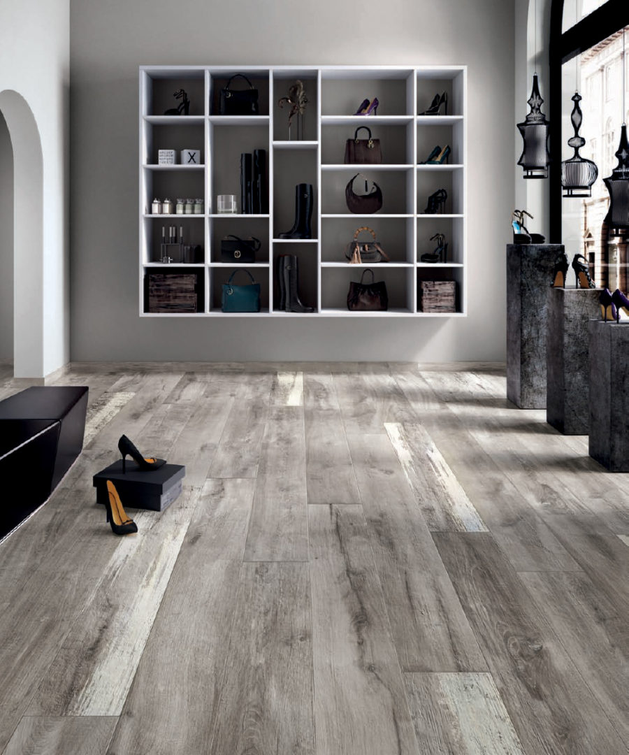 Legend Grey 8x48 Porcelain Wood Tile