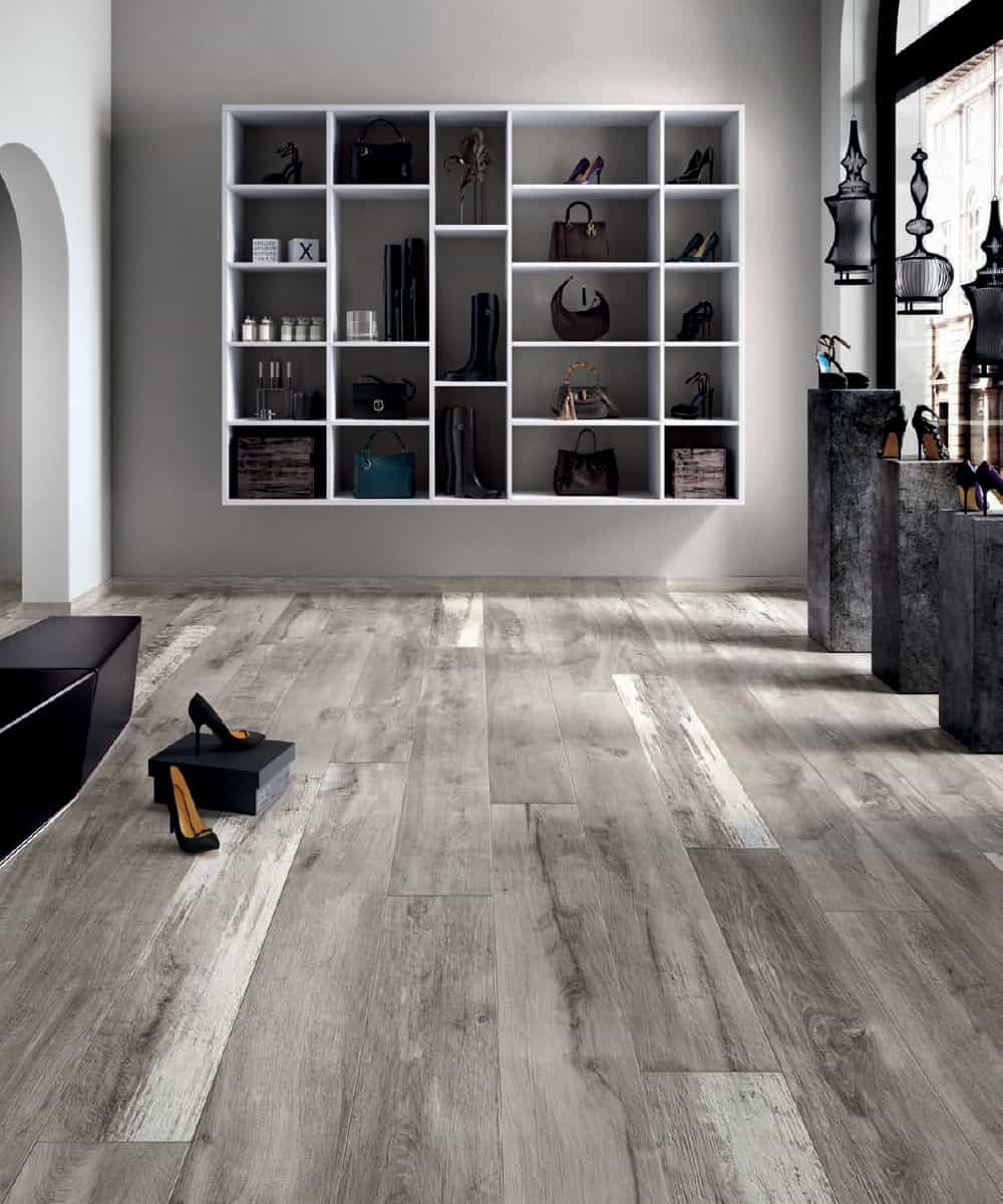 Legend Grey 8×48 Porcelain Wood Tile