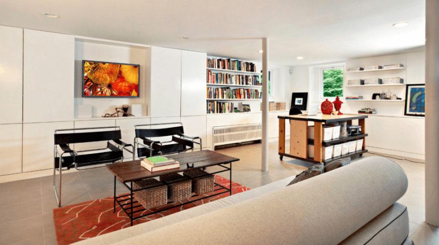 Library workshop basement by Studio1200