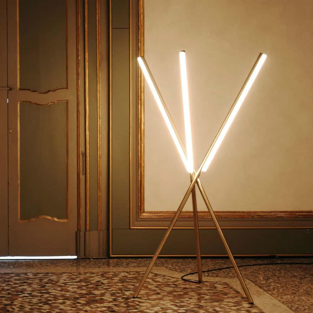 Lines Floor Light by Michael Anastassiades