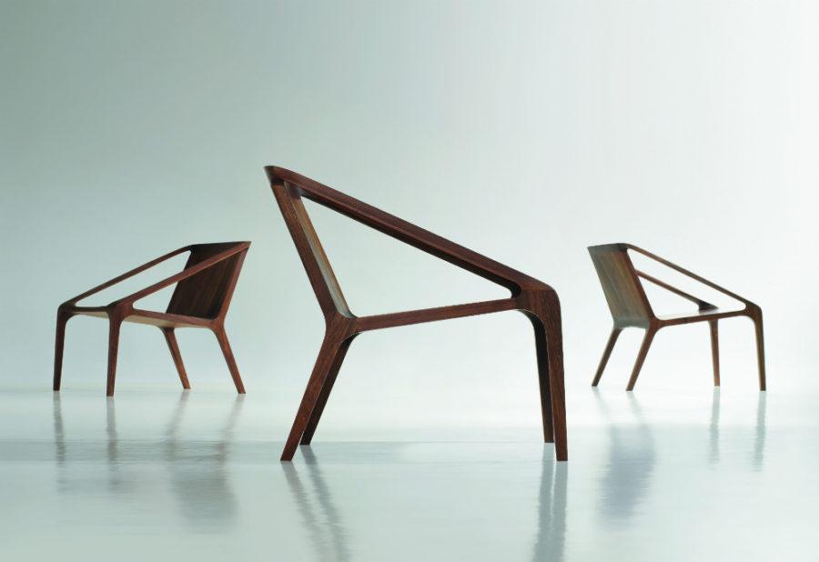 Loft Shelly Shelly chair by Bernhardt Design