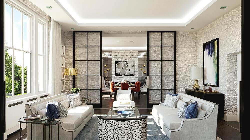 London apartment by Falchi Interiors