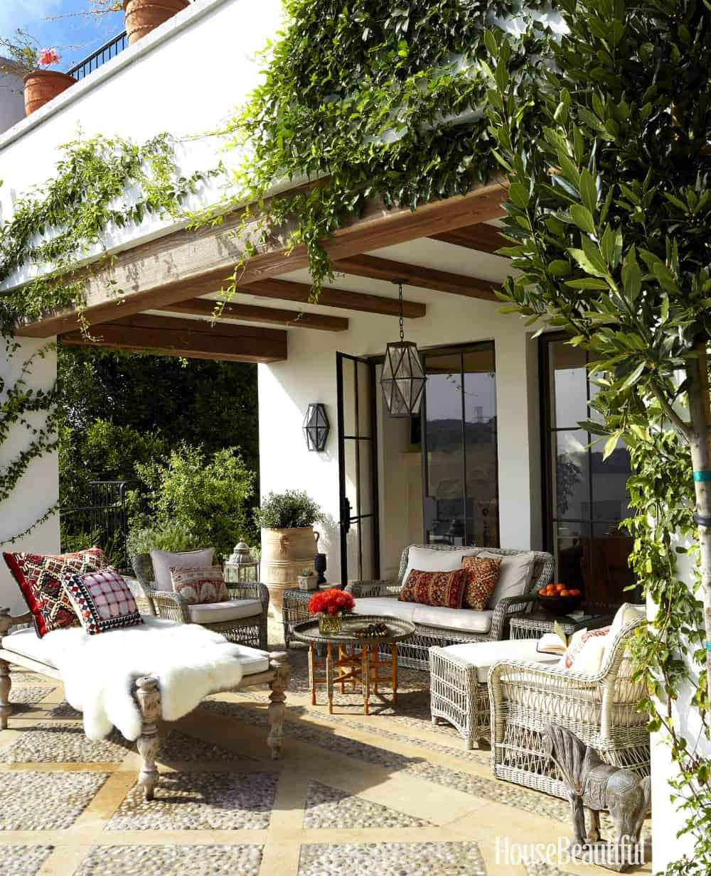 Mediterreanean patio