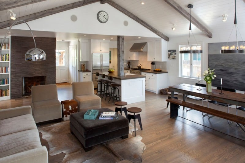 ... Mill Valley Refined Rustic Modern Interior By Artistic Designs For  Living