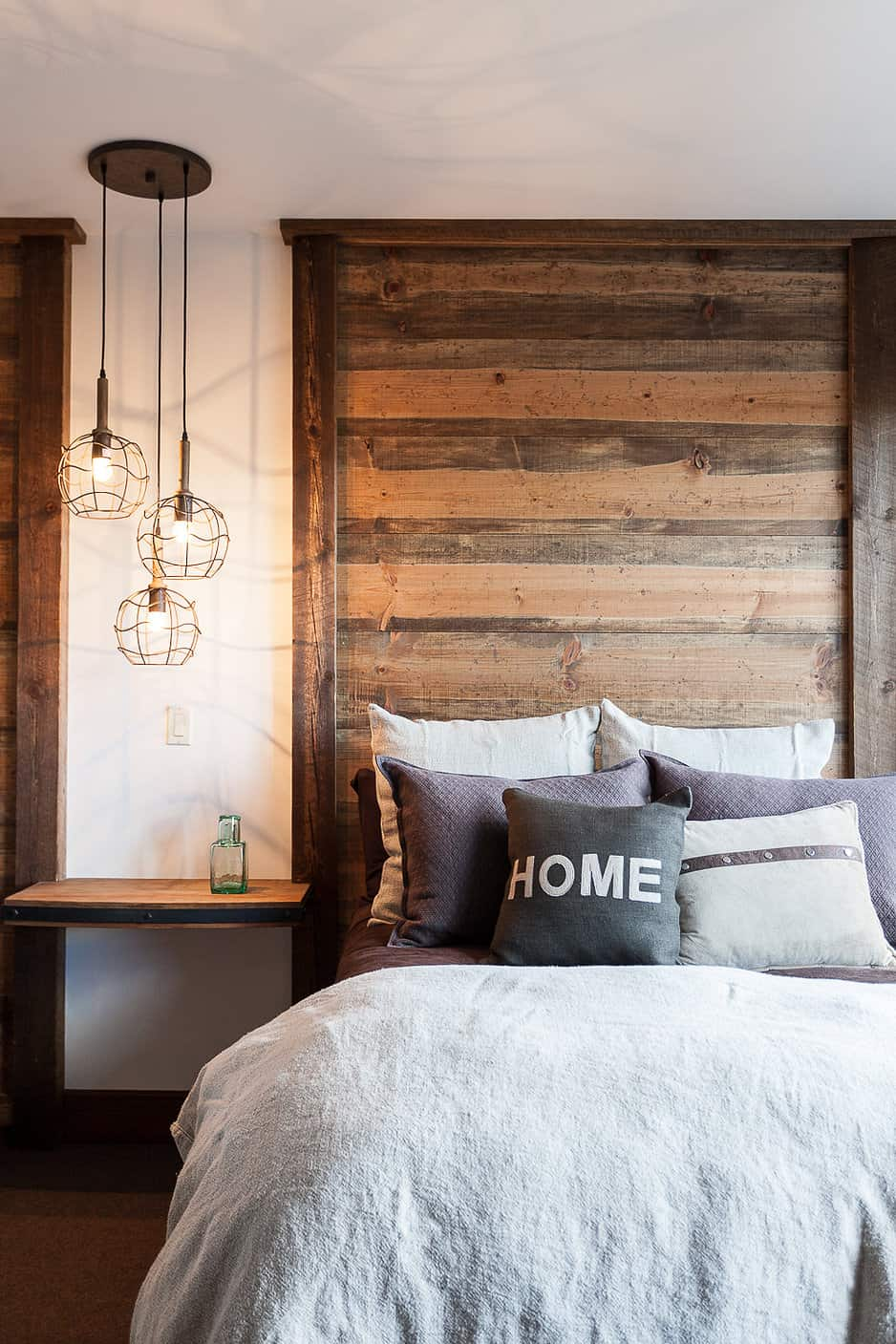 Minimal bedroom by High Camp Home Design