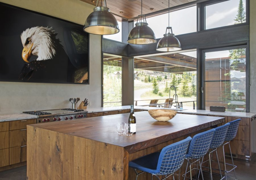 Modern mountain Montana home