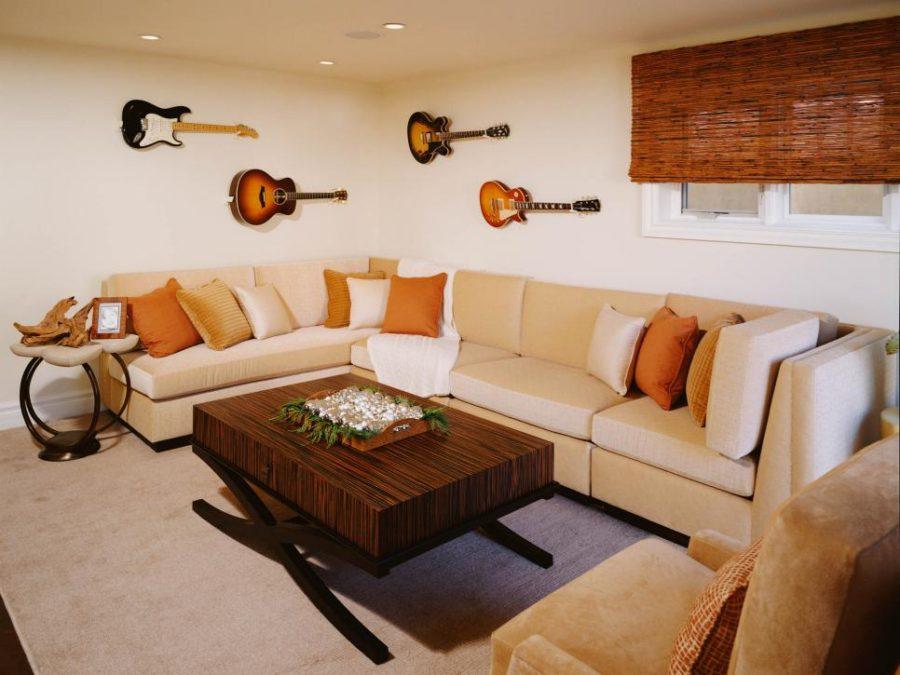 Musical basement by Sarah Barnard