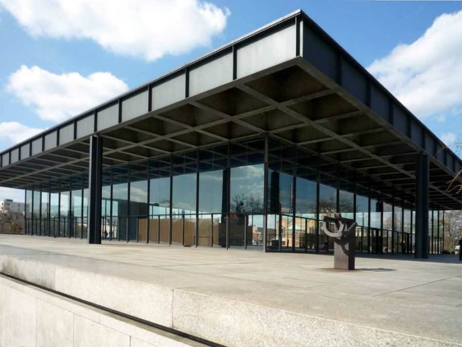 Neue Nationalgalerie in Berlin 900x675 Modernist Architecture: 30 Stunning Examples