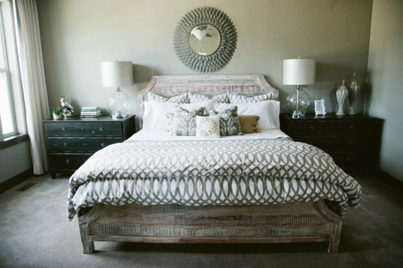 View In Gallery Neutral Rustic Modern Bedroom By LIV Design Collective