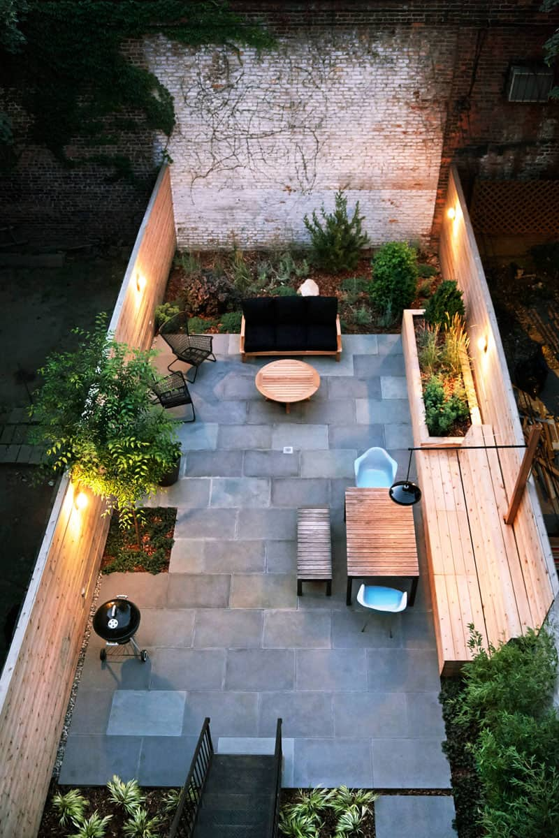Brilliant Backyard Ideas, Big and Small on Long Narrow Yard Landscape Design Ideas id=11985