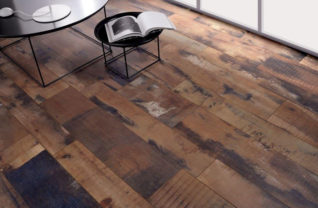 Old wood Living Cherry Brown wood tiles