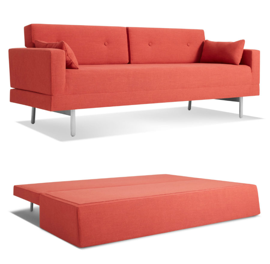 Modern sleeper sofas that will make you sleep like a baby for Modern loveseat