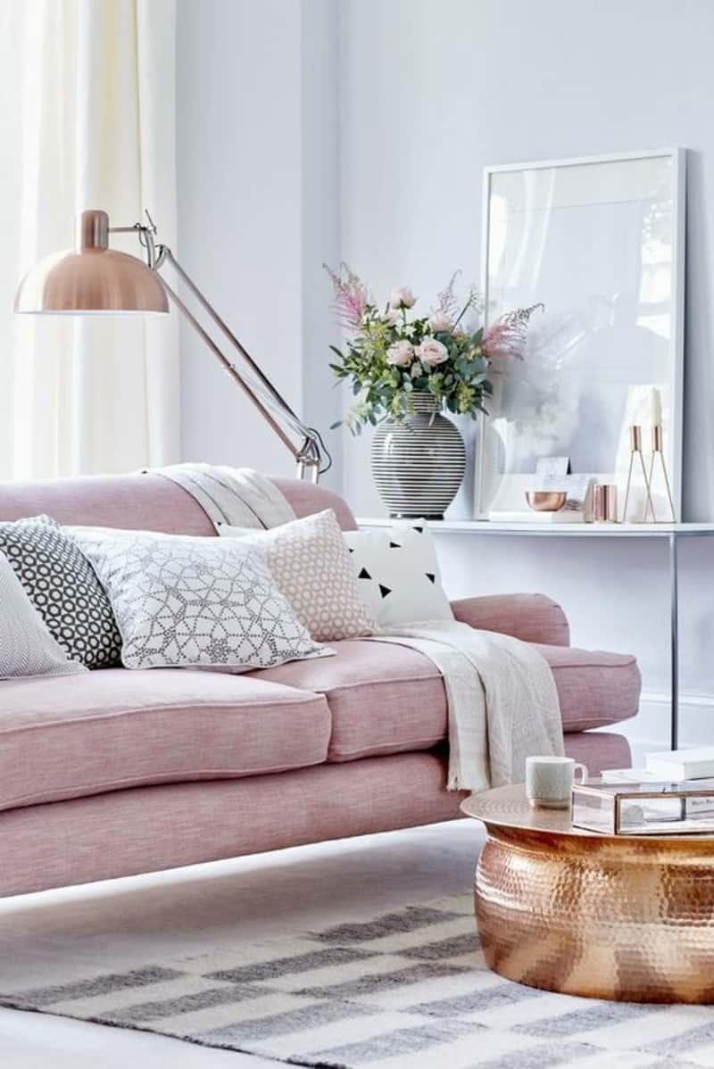 Pastel sofa