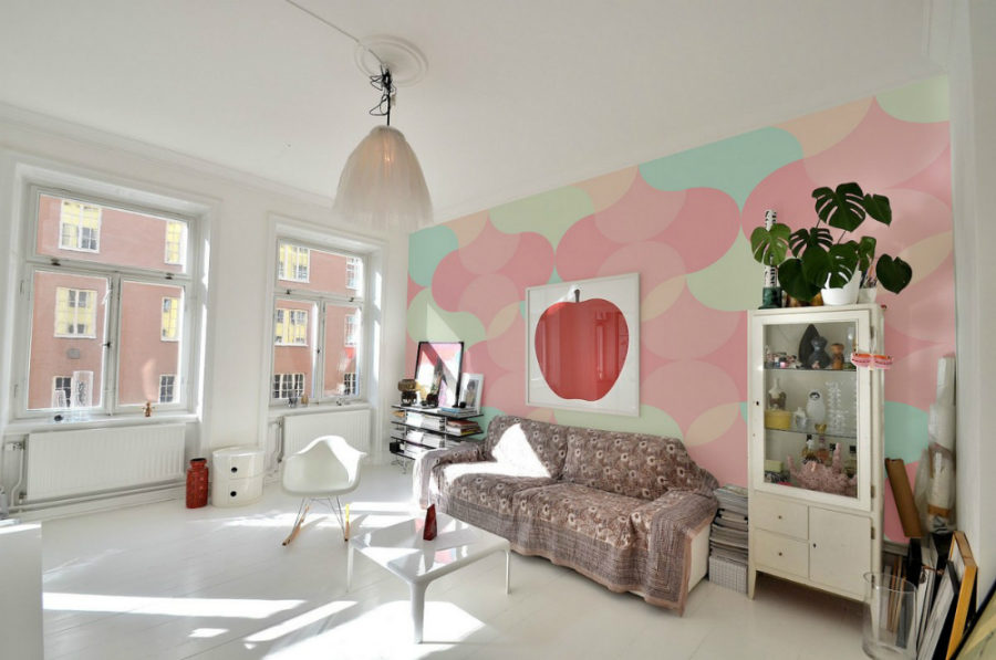 Pastel Colors Bedroom Ideas Part - 45: View In Gallery Pastel Wall